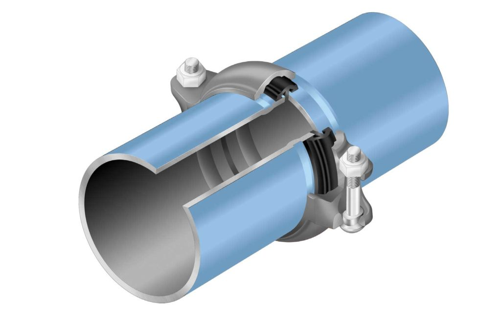 Elevation Piping, Big-lock pipe fittings